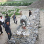 Mitigation Project is ongoing in Shaikha village of Shughnan district - 2012