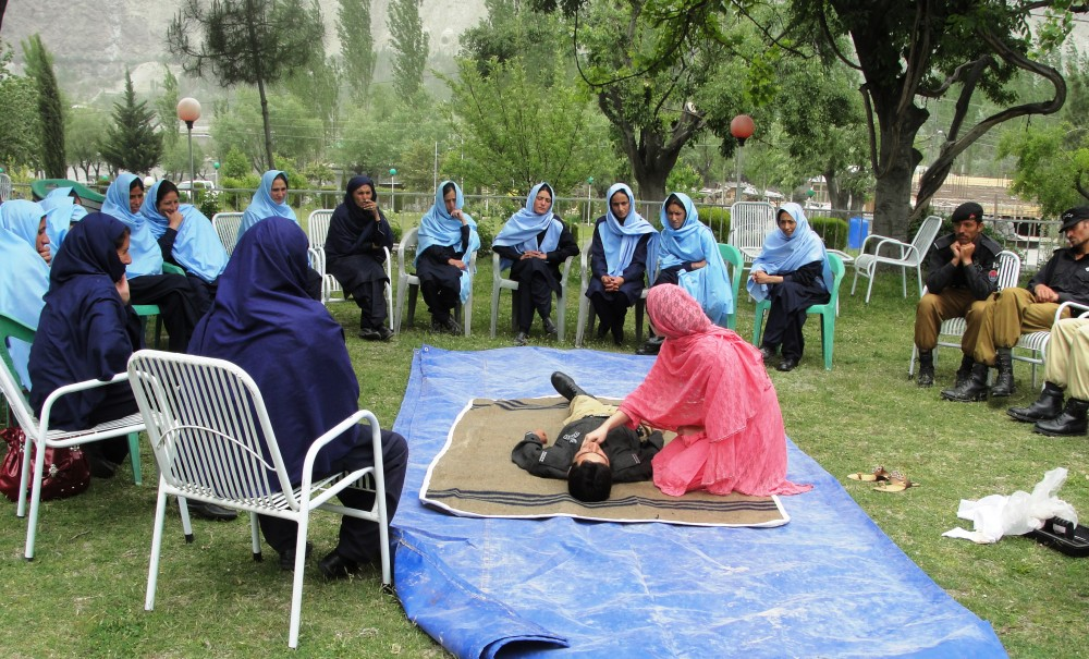 Policewomen and DRR in Pakistan